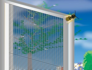 Fliegengitter – sicherer Schutz vor Insekten